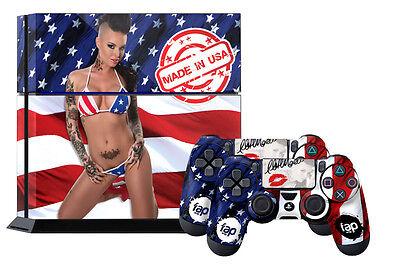 Fap Wrap Skin Ps4 Playstation Sticker 4 Console Controller Decals Christy Mack U