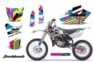 Dirt Bike Decal Graphics Kit MX Sticker Wrap For Yamaha YZ85 2002-2014 FLASHBACK