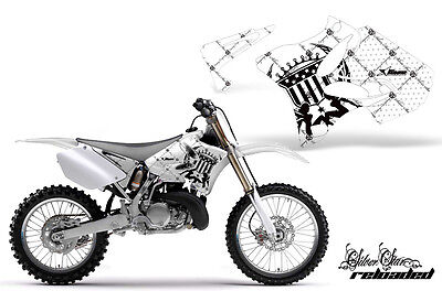 Dirt Bike Shroud Graphics Kit Decal Wrap For Yamaha YZ125 YZ250 02-14 RELOAD K W