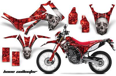 Dirt Bike Graphics Kit Decal Sticker Wrap For Honda CRF250L 2013-2016 BONES RED