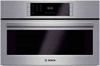 """Bosch HSLP451UC: 30"""" Steam Convection Oven Benchmark Series - Stainless Steel"""