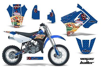 Dirt Bike Graphics Kit Decal Sticker Wrap For Suzuki RM85 2002-2016 VEGAS BLUE