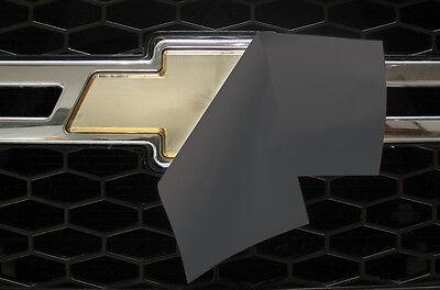 2 Sheets Long Lasting Vinyl for DIY Chevy Emblem Overlay STEEL BRUSH