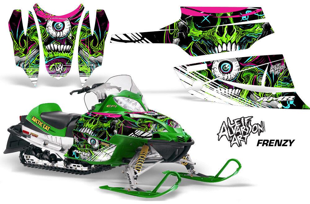 Arctic Cat Firecat Sabercat F5,F6,F7 Graphics Kit Snowmobile Sled Wrap FRENZY G