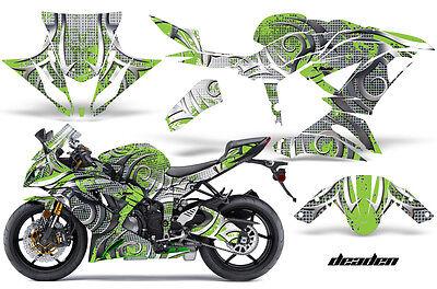 Street Moto Conjunto Gráfico Pegatina Envolvente para Kawasaki Ninja ZX6R 636