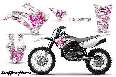 Dirt Bike Graphics Kit MX Decal Wrap For Yamaha TTR125LE 2008-2018 BTTRFLY P W
