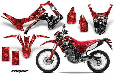 Dirt Bike Graphics Kit Decal Sticker Wrap For Honda CRF250L 2013-2016 REAPER RED