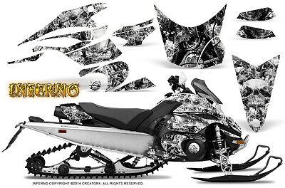 Yamaha FX Nytro 08-14 Graphics Kit CreatorX Snowmobile Sled Decals INFERNO W