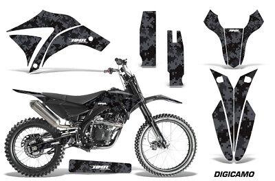 Dirt Bike Graphics Kit MX Decal Sticker Wrap For Apollo Orion 250RX DIGICAMO BLK