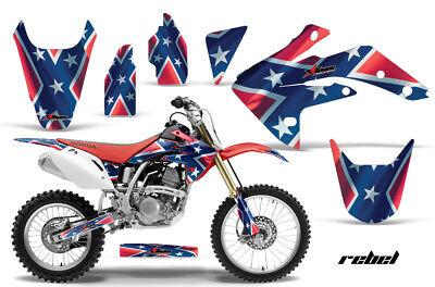 Dirt Bike Graphics Kit Decal Sticker Wrap For Honda CRF150R 2007-2016 REBEL