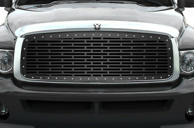 Custom Grille for 2002-2005 Dodge Ram Trucks 1500/2500/3500 Steel Grill BRICKS