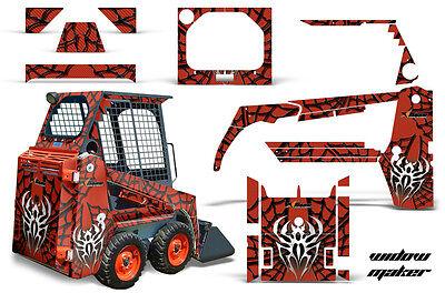 Graphics Kit Decal Wrap For Bobcat Skidsteer Mini Loader Skid Steer Widow K O