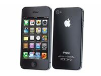 ****APPLE IPHONE 4 32GB BLACK UNLOCKED ALL NETWORKS****