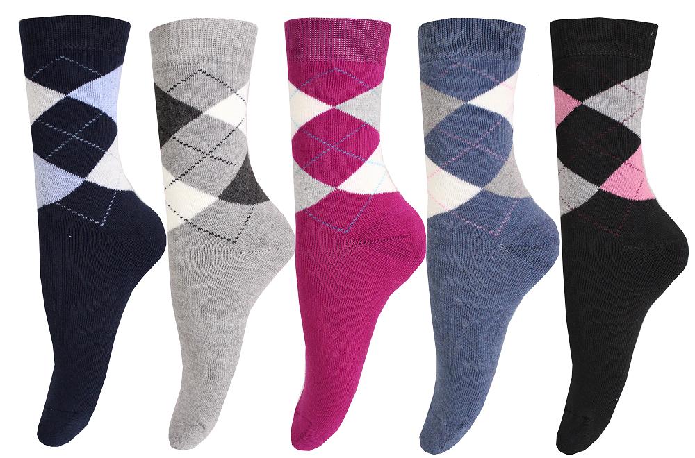 6 Paar Damen Thermo Socken  Warme Wintersocken Dick NEU