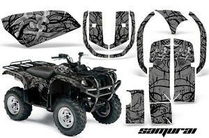 YAMAHA GRIZZLY 660 CREATORX GRAPHICS KIT DECALS STICKERS SAMURAI BS