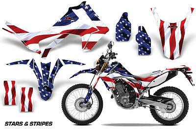 Dirt Bike Graphics Kit Decal Sticker Wrap For Honda CRF250L 2013-2016 USA FLAG