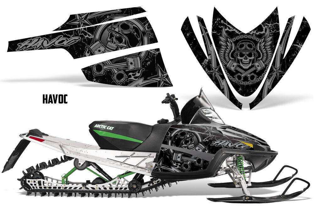 Decal Graphic Kit Arctic Cat M Series AC Crossfire Sled Snowmobile Wrap HAVOC S