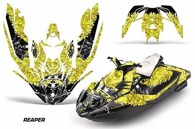 Sea-Doo Bombardier Spark 3 UP Jet Ski Graphic Kit Wrap Jetski Parts 15-16 REPR Y