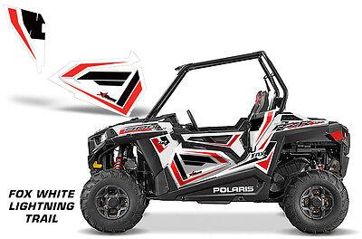 AMR Racing Polaris RZR 900 Trail Lower Door Inserts Graphic Decal Kits FOX WL