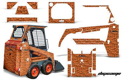 Graphics Kit Decal Wrap For Bobcat Skidsteer Mini Loader Skid Steer Digicamo Org