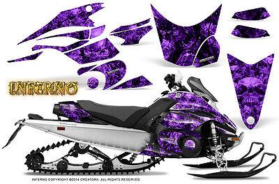 Yamaha FX Nytro 08-14 Graphics Kit CreatorX Snowmobile Sled Decals INFERNO PR