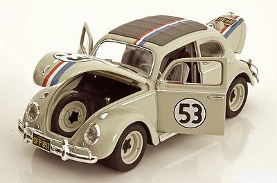 Das 1:18 Modell des Herbie von Hot Wheel Elite