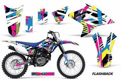 Dirt Bike Decal Graphics Kit Sticker Wrap For Yamaha TTR230 2005-2018 FLASHBACK