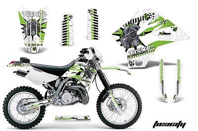 Dirt Bike Graphics Kit Decal Sticker Wrap For Kawasaki KDX200 95-06 TOXICITY G W