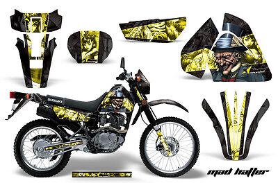 Dirt Bike Graphics Kit Decal Sticker Wrap For Suzuki DRZ200 SE 96-09 HATTER Y K