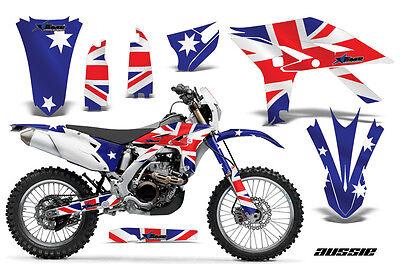Dirt Bike Graphics Kit Decal Sticker Wrap For Yamaha WR450F 2012-2015 AUSSIE