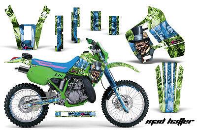 Dirt Bike Graphics Kit Decal Sticker Wrap For Kawasaki KDX200 89-94 HATTER U G