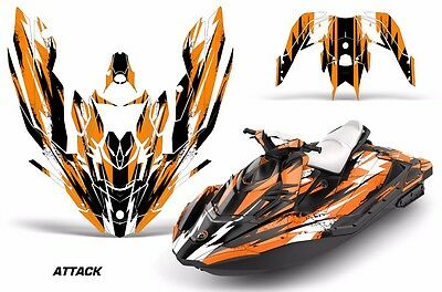 Sea-Doo Bombardier Spark 3 UP Jet Ski Graphic Kit Wrap Jetski Parts 15-16 ATTK O