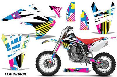 Dirt Bike Graphics Kit Decal Sticker Wrap For Honda CRF150R 2017-2018 FLASHBACK