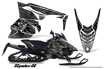 YAMAHA VIPER 2014-2016 SNOWMOBILE SLED WRAP GRAPHICS KIT CREATORX SXS