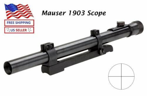 SPRINGFIELD 1903 A4 Rifle Scope Steel Tube W/ Steel Mount Drill and Tap included