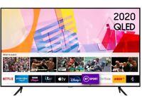 "Brand new, SAMSUNG QE50Q60TAUXXU 50"" Smart 4K TV"
