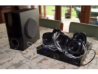 LG HT304SU DVD Home Cinema 5.1 Stereo System + Remote
