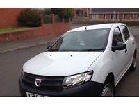 Dacia Sandero 1.2 Access. White. £3900. Priced for quick sale.