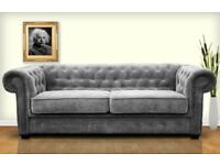 50% REDUCTION ON OUR IMPERIAL CHESTERFIELD SOFAS... CORNERS, SOFA SETS, ARM CHAIRS, SOFA BEDS