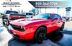 2016 Dodge Challenger R/T BLACKTOP, 5.7L V8, BACKUP CAM, REMOTE