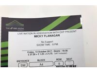 Micky Flanagan - The SSE Arena Wembley - Friday 13th October x 2 Tickets - £80 Each