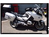 BMW R1200RT 2007 with tankbag and all hard luggage
