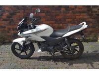 Honda CBF 125, White, **64 plates** **7304 miles**