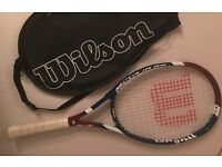 2 ADULT TENNIS RACKETS - PRINCE & WILSON
