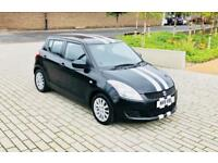 SUZUKI SWIFT 1.2 SZ3 5d 94 BHP (black) 2011
