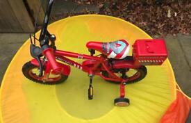 """12"""" Fire bike"""
