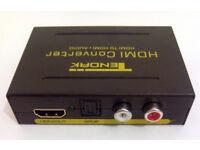 HDMI to HDMI+Optical converter