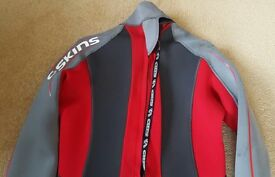 "Wetsuit C-SKINS XL 42-44"" 3/2mm Black-Red/grey"