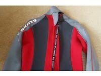 "Wetsuit C-SKINS XL 42-44"" 3/2mm Black-Red/grey"