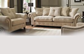 Loch leven 3&3 sofas delivery available